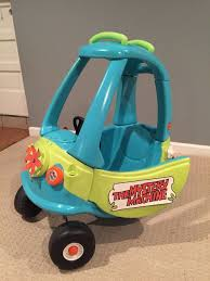 100 Little Tikes Semi Truck Mystery Machine Cozy Coupe Makeover With Working Headlights And Tail