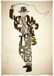 Typographic Film Posters Depict Cinemas Best Lines