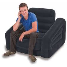 Intex Inflatable Pull Out Sofa by Intex Inflatable One Seater Pull Out Chair U2013 Model Number 68565 On