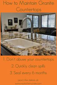 Maintaining granite countertops is easy with these three simple