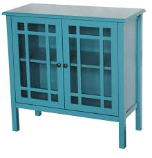 Curio Cabinets Walmart Canada by Teal Blue Accent Cabinet Best Home Furniture Design