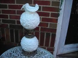 Antique Hurricane Lamp Globes by Fenton Glass Lamp Antique Purple Hurricane Lamp With Fenton Milk