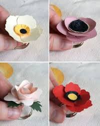 How To Make Simple Paper Roses Flowers Step By DIY Tutorial