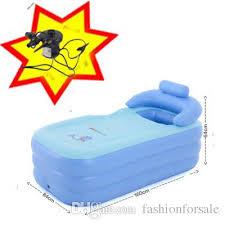 2017 portable inflatable bathtub thicken pvc spa folding