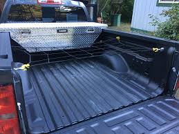 Bedliner, Tool Box, Cargo Net, And Bed D-rings. Cargo Is Now Managed ... New Heavy Duty Trailer Net Truck Cargo W Bungee Marksign 100 Waterproof Truck Cargo Bag With Net Fits Any Gladiator Heavy Duty Medium Mgn100 Auto Accsories Headlight Bulbs Car Gifts Trunk Mesh Smartstraps Bungee Plastic Hooks At Lowescom Heavyduty Pickup Securing Gear Tailgate Down 20301 6x8 Ft Long Bed Restraint System Bulldog Winch Upgrade Cord 47 X 36 Elasticated Wwwtopsimagescom Gorilla Boulder Distributors Inc