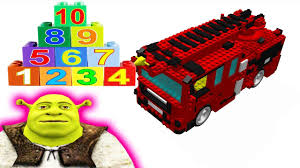 Numbers Learn Kids Lego Firetruck Videos By Shrek Trucks For ... Custom Lego Seagrave Maurader Hook Ladder Tiller Fire Truck Amazoncom Lego City Set 7213 Offroad Fireboat Toys 60155 Advent Calendar Review Brktasticblog An Australian Cars 2 Red Disney Pixar Toy Review Howto Build Engine Toyzzmaniacom Itructions For 60004 Station Youtube 60023 Starter Amazoncouk Games City Fire Truck And Fireboat Airport Remake Legocom Mobile Command Center 60139 Products Sets The Movie Brickset Set Guide Database