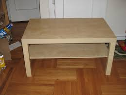 lack side table hack desk ikea lack coffee table standing desk