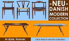 Neu Danish Modern Furniture Collection