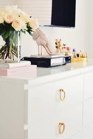 Ikea Kullen Dresser Hack by A Super Easy Ikea Dresser Hack The Pink Dream