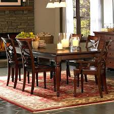 Dining Set Design Traditional Deep Wooden Finishes And Creme Are The Theme For This Room
