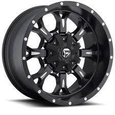 100 17 Truck Wheels 12 Fuel Krank D5 Black Rims 6x55 6x135 6 Lug Chevy