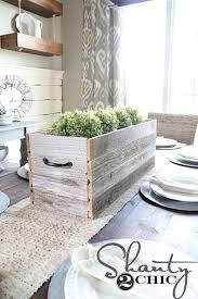 diy barn wood planter box shanty 2 chic