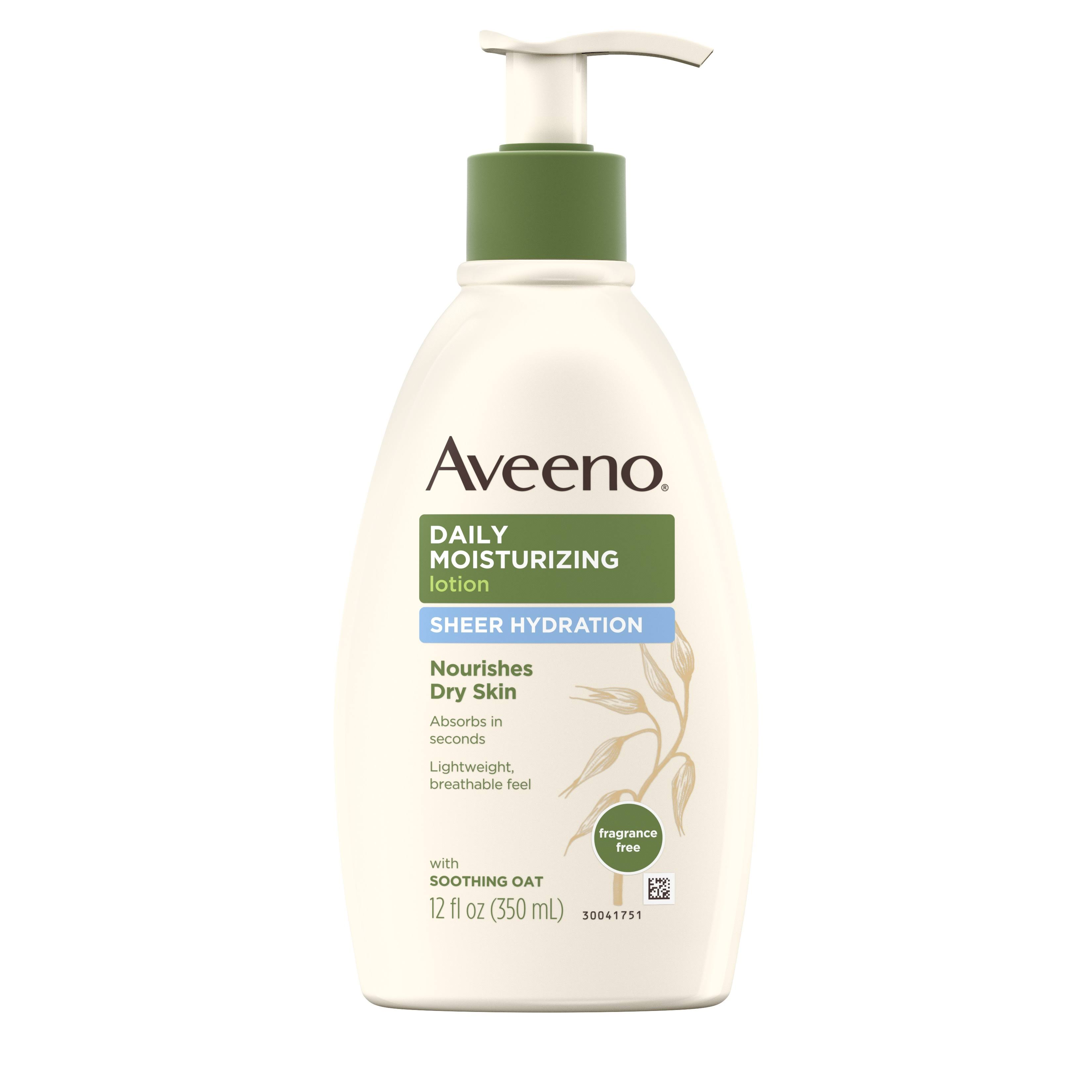 Aveeno Sheer Hydration Daily Moisturizing Lotion - 12oz