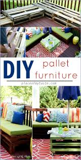 Plans For Pallet Patio Furniture by Diy Pallet Furniture A Patio Makeover