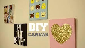 DIY Wall Decor Custom Canvas