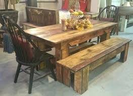 Lovely Rustic Dining Room Sets Furniture Phoenix Craigslist Chairs