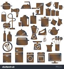 Tolle Kitchen Utensils And Appliances Cookware Amp Clipart 10