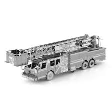 100 Model Fire Truck Kits Metal Earth DIY 3D Metal Metal Earth Engine