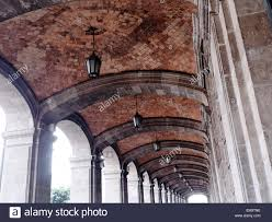 100 Brick Ceiling Ceiling Looking Like Parquet And Arches Havana Cuba Stock
