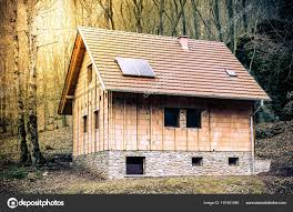 100 Houses In Nature Construction New Building New Cottages Symbol