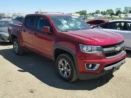 2017 Chevrolet Colorado Z For Sale At Copart Colorado Springs, CO ...