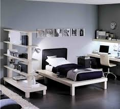 chambre ado gris deco chambre ado gris et blanc visuel 6