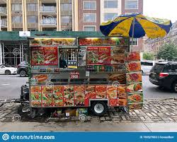 100 Philly Food Trucks Vendors In New York City USA Editorial Stock