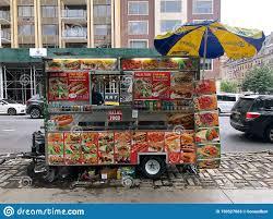 100 Food Trucks In Nyc Vendors New York City USA Editorial Stock