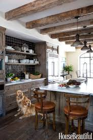 100 Rustic Ceiling Beams Best Kitchens Of 2013 OPEN SHELVING Wood Kitchen Cabinets