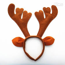 new christmas decoration brown party supplies reindeer antler