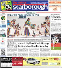 June 12 North By The Scarborough Mirror