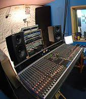 Allen Heath GS3000 Analogue Mixing Console In A Home Studio