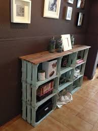 Photo 7 Of 8 Decorating With Wooden Crates DIY Wood Wine Crate Ideas And Projects