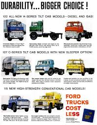 100 Length Of A Semi Truck The New Heavyduty 1961 Ford S Ford Tractor Pinterest