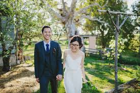 Alice Temperley Wedding Dress And A Bride Wearing Glasses Super