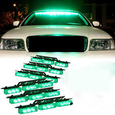 100 Strobe Light For Trucks XYIVYG 54 LED Emergency Car Vehicle S Bars Warning Green