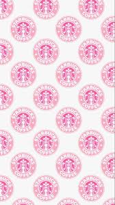 Iphone 5 Pattern Pink Starbucks Wallpaper Image 3941522 By