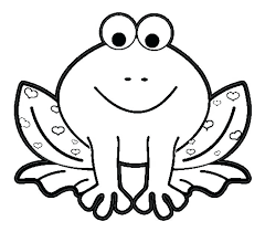 Froggy Coloring Pages Frog Prints And Colors