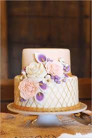 Rustic Vintage And Elegant Wedding Ideas Purple CakesPretty