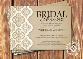 Rustic Bridal Shower Invitations For Inspiration Smart 10
