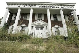 Old Haunted Funeral Home