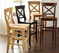 Pottery Barn Aaron Chair Espresso by Rustic Pine Bar Stools Foter