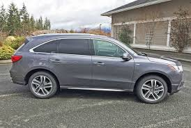 Does Acura Mdx Have Captains Chairs by In Profile The 2017 Acura Mdx Sport Hybrid Might Appear To Be