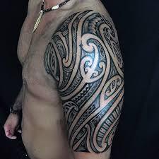 Incredible Tribal Half Sleeve Tattoos For Men