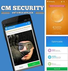 Download CM security Antivirus applock for Android phones and tablets