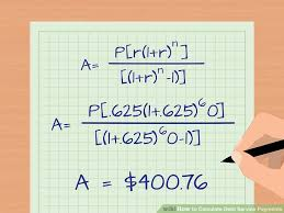Sinking Fund Factor Calculator by 3 Ways To Calculate Debt Service Payments Wikihow