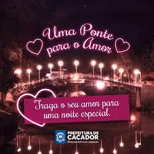 Evento De Dia Dos Namorados Na Ponte Do Amor Inicia às