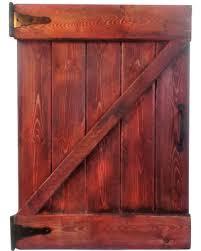 Bargains 20% f Rustic Barn Door Wall Decor