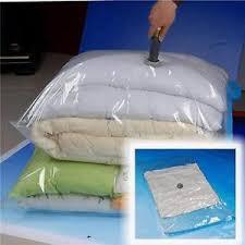 lot housse de rangement sous vide aspirateur sac compression