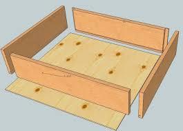 fabriquer tiroir coulissant maison design bahbe